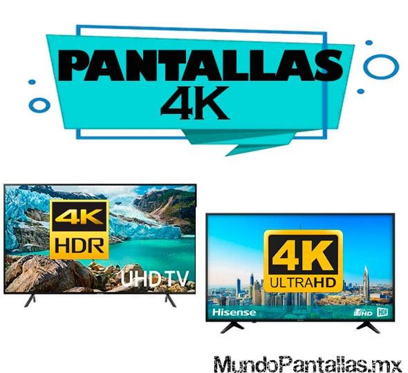 Pantallas 4K