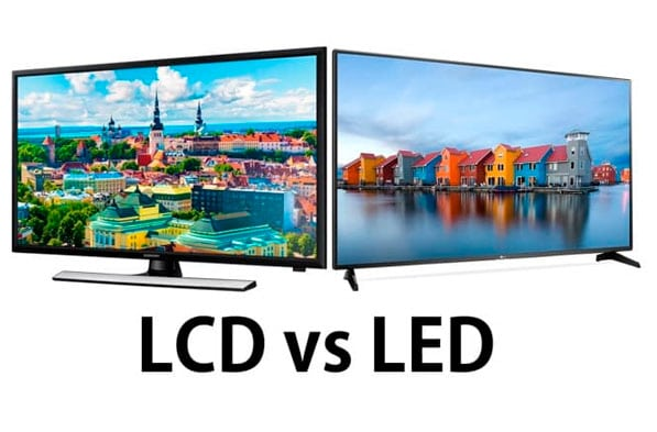 Pantallas LCD vs LED