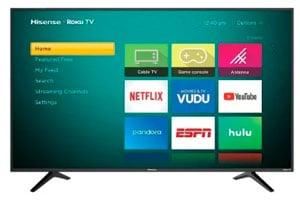 """Smart TV Hisense 4K 55"""""""