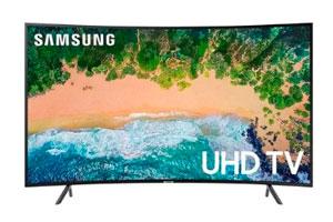 Smart TV Samsung Curvo 4K
