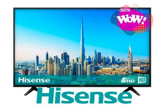 las mejores pantallas Hisense 4k smart tv