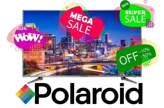 oferta pantalla polaroid smart tv