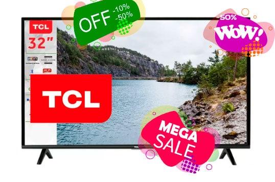 ofertas tcl smart tv baratas