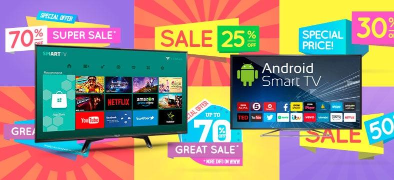 pantallas smart tv baratas