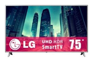 Pantalla LG 75 pulgadas 4K UHD