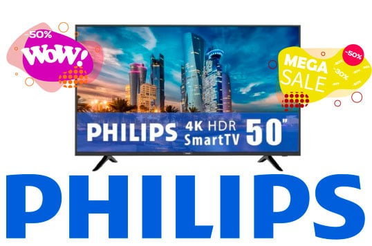 oferta pantallas philips baratas