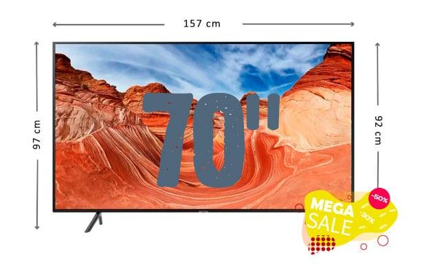 ofertas Smart TV de 70