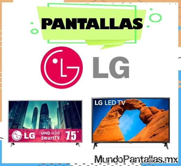 pantallas LG