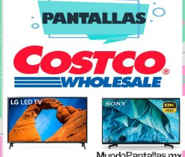 Pantallas Costco