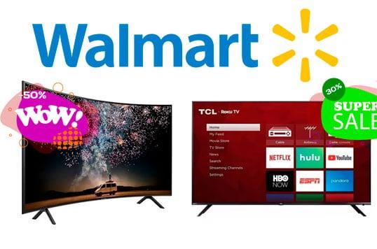 ofertas y precios de pantallas en walmart