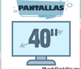 Pantalla 40 Pulgadas – Las pantallas 40″ de las mejores marcas al mejor precio