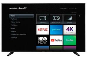 pantalla Smart TV 60 Sharp 4K