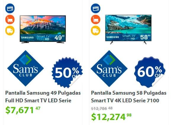 precios y ofertas de pantallas en sams club