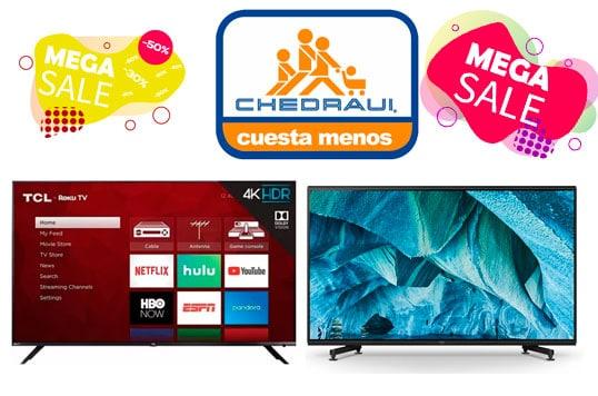 smart tv chedraui