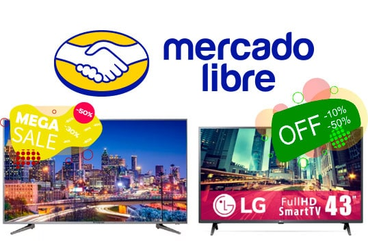 smart tv mercado libre